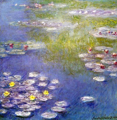 Nympheas at Giverny Monet