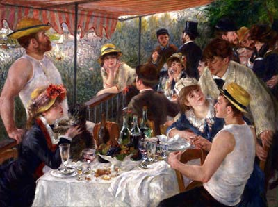 Luncheon at the Boating Party Pierre-Auguste Renoir