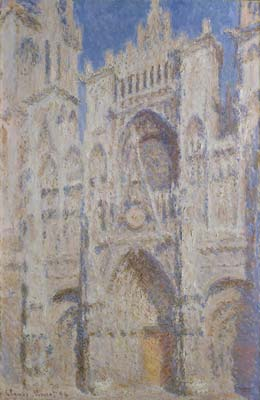 Rouen cathedral the portal sunlight 1894