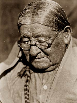 Henry, a Wichita Indian man photo by Edward Curtis