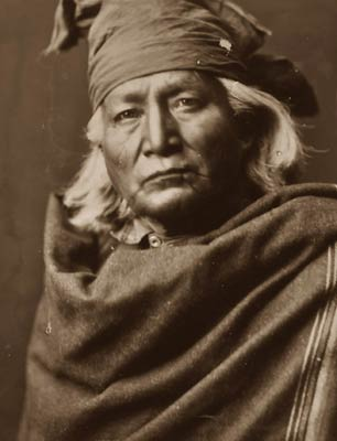 Chino North American Indian Man, Edward Curtis