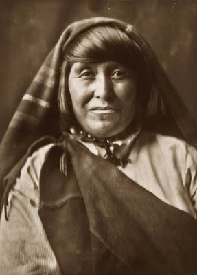 Acoma Native American Indian woman