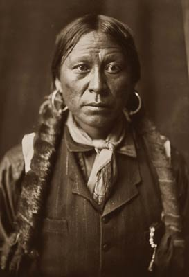 A Jicarilla Native American Indian man