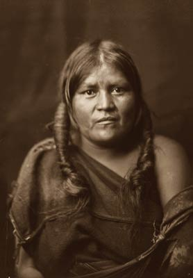 A Hopi Native American Indian woman