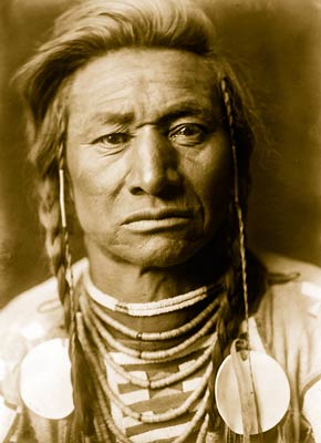 Chief Child, Native Indian Crowman, 1908