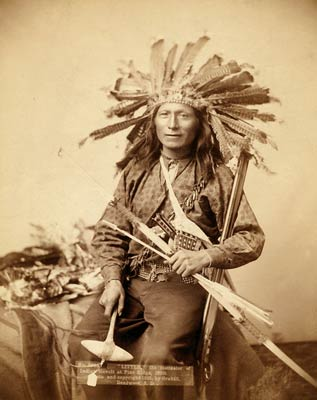 """Little"", Oglala Band Leader, 1890"