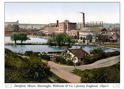 Dartford, Messrs. Burroughs, Wellcome & Co.'s factory, London an