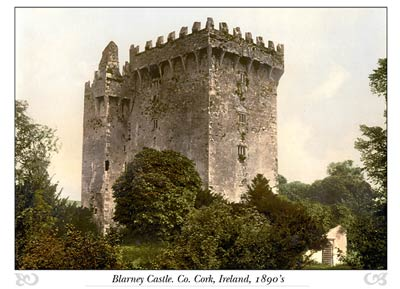 Blarney Castle. Co. Cork, Ireland