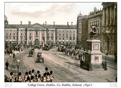 College Green. Dublin. Co. Dublin, Ireland
