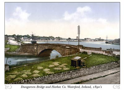 Dungarven Bridge and Harbour. Co. Waterford, Ireland