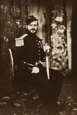Captain Fay on General Bosquets staff, Crimean War