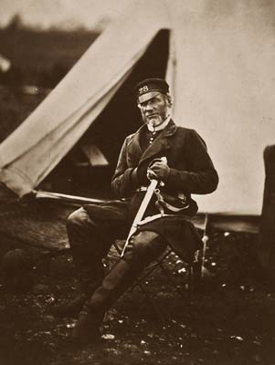 Captain Andrews, 28th Regiment Crimean War