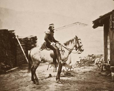 Captain Lilley, field train Crimean War