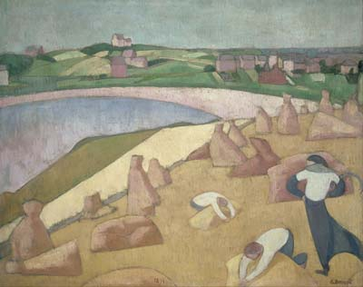 Emile Bernard Harvest by the Sea