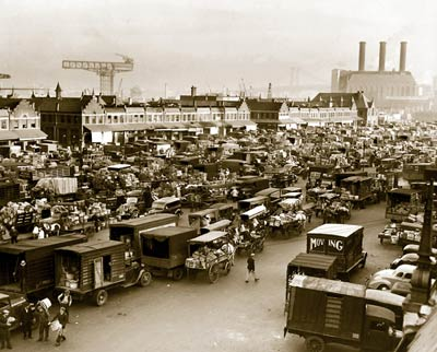 Wallabout Market, Brooklyn, N.Y. 1940