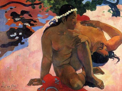 What Are You Jealous Paul Gauguin