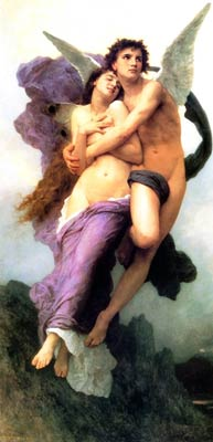 Psyches Rape by William Bouguereau