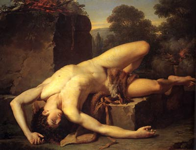 The death of Abel Francois-Xavier Fabre