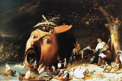 The Temptation of St. Anthony - 1650 joos van craesbeeck