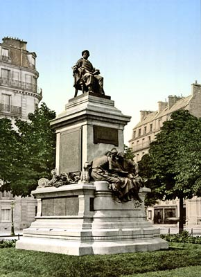 Alexandre Dumas Monument, Paris