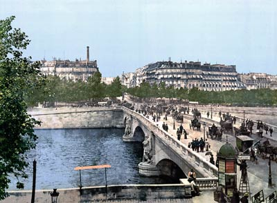 Alma bridge, Paris, France