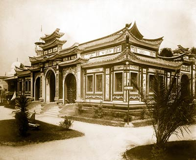 Pavilion of Annam & Tonkin, Paris Exposition, 1889