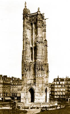 Tour St. Jacques Paris France