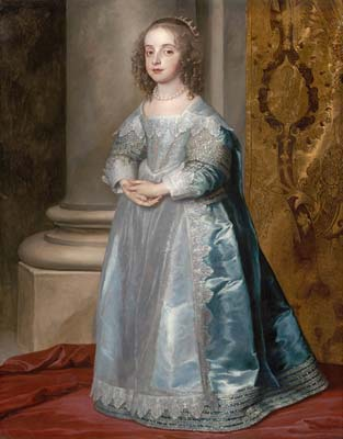 Anthony van Dyck Princess Mary, Daughter of Charles I