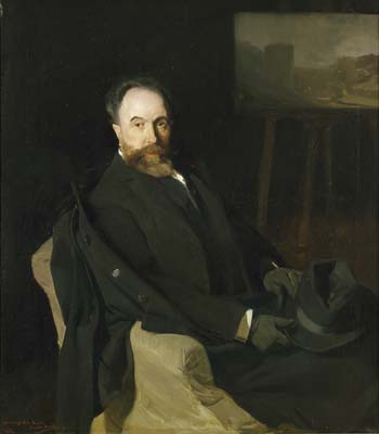 Portrait of the painter Aureliano de Beruete