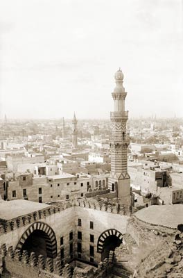 Cairo, Egypt from Mosque