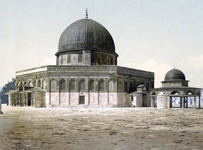 Dome of the Rock, 1890's.