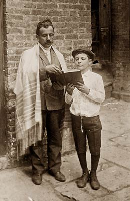 Jewish New Year, prayer shawl and Bible