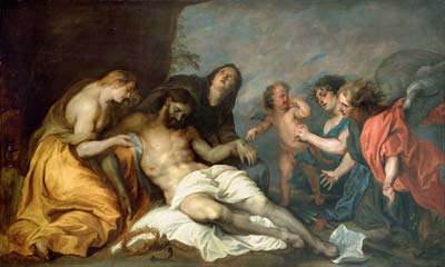 Anthony van Dyck Lamentation over the Dead Christ