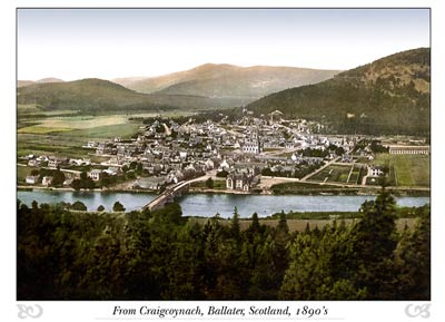 Ballater from Craigcoynach, Scotland