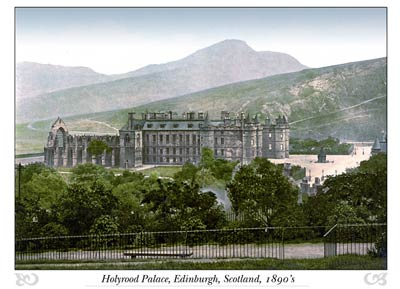 Holyrood Palace Edinburgh, Scotland