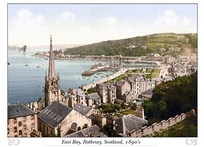 East Bay, Rothesay, Scotland
