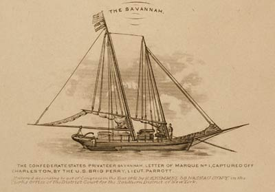 Confederate ship The Savannah
