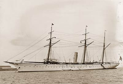 Nourmahal Steam Yacht August 4th 1895