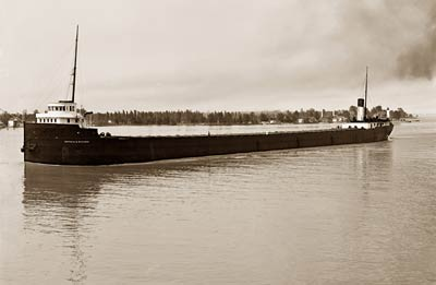 Cargo Ship Peter A.B. Widener Freighter 1910
