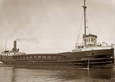 Lycoming Freighter Cargo Ship 1915
