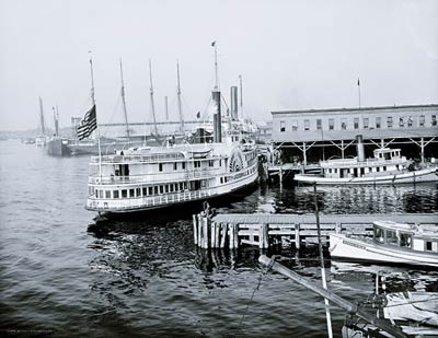 The Docks, Jacksonville, Florida, Stern Wheeler