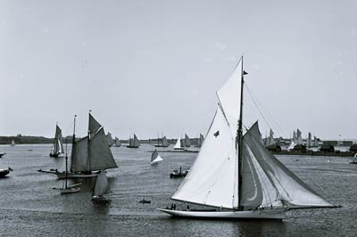 New York Yacht Club Rhode Island, Newport harbor 1888