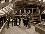 U.S.S. Free Lance Steam Yacht, US Navy petty officers, 1898