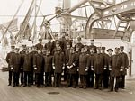 USS Maine 1896 United States Navy Military Officers