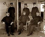 USS Vixen gunboat, Captain and officers