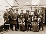 Officers and visitors, Kriegsmarine, German navy 1893