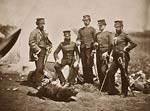 Officers of the 57th Regiment Crimean War
