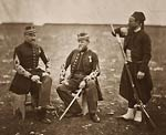 French officers and Zouave Crimean War