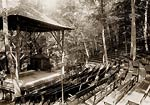 Rustic theatre, Riverton Park, Portland, Maine