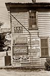 Soft drink advertising 1938, Halifax store NC